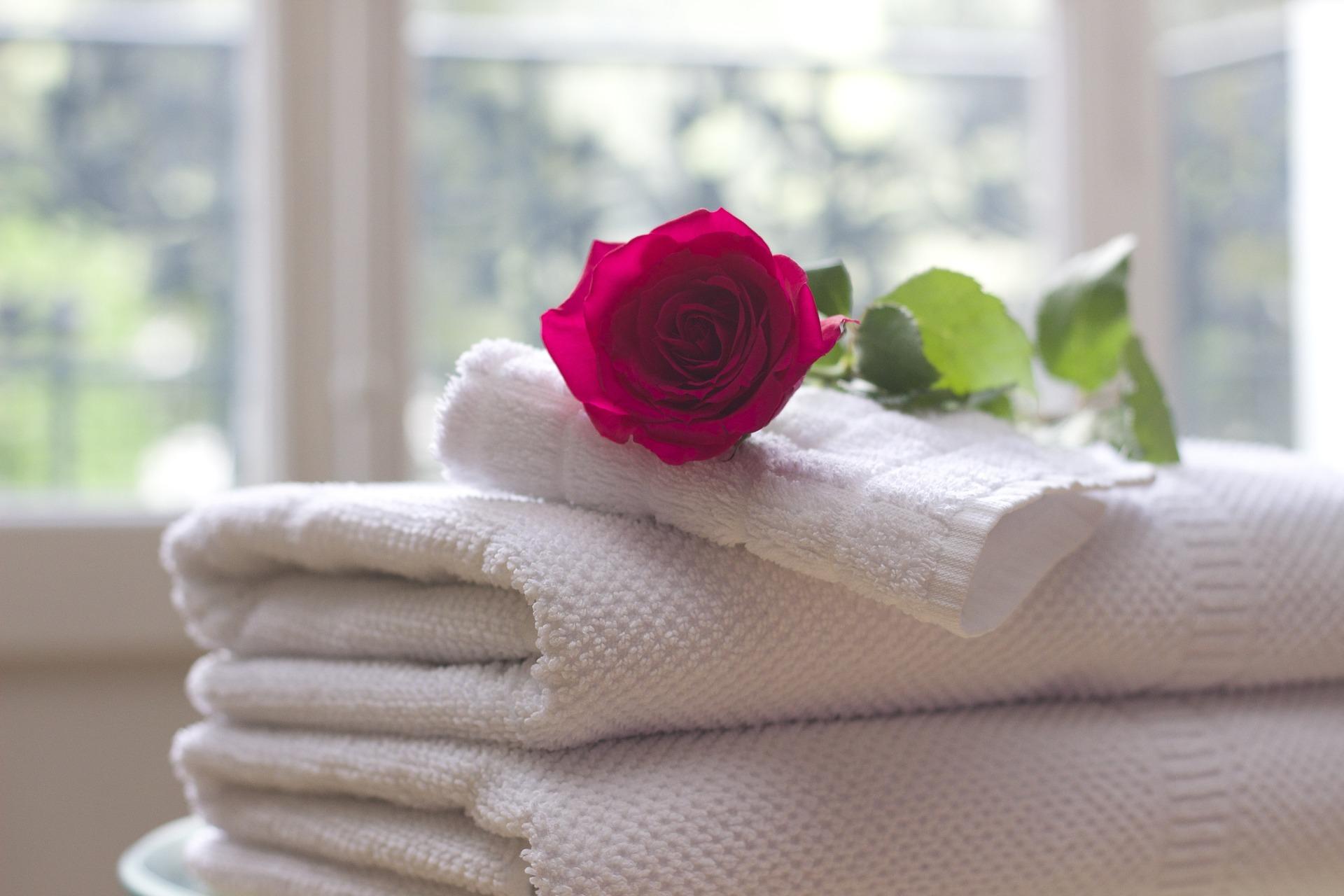 Ein kleiner Korb für Gästehandtücher auf mond-blog.de